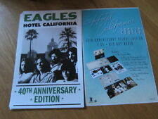 Eagles Hotel California 40th anniversary poster 11x17