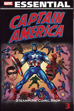 ESSENTIAL CAPTAIN AMERICA TPB VOL 3 (#127 - 156)  Marvel  *NM*