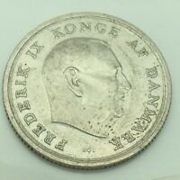 1967 Denmark Danmark 1 One Krone Circulated Danish Coin E771
