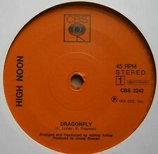 "7"" High Noon Dragonfly Holland Nm Cbs 1974 Rare Progressive Psych Rock"