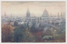 Oxfordshire postcard - The Spires of Oxford - Oilette 7952 (A195)