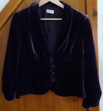 Kaliko Purple Velvet Jacket 14