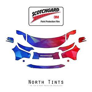 Mitsubishi Outlander 2016-2018 3M Scotchgard Paint Protection Film Clear Bra Kit