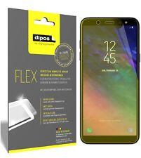 3x Samsung Galaxy A6 Plus Protector de Pantalla, cobertura 100%, láminas