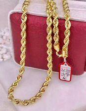 GoldNMore: 18K Gold Necklace Chain 24 inches 26.75G