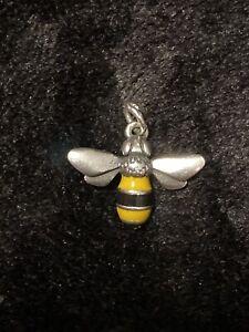 James Avery Enamel Bumble Bee Charm NWOT