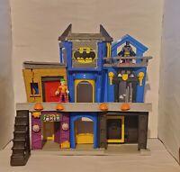 IMAGINEXT BATMAN THE JOKER GOTHAM CITY BANK JAIL PLAYSET DC COMICS MATTEL