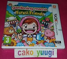 GARDENING MAMA FOREST FRIENDS NINTENDO 3DS NEUF VERSION PAL FRANCAISE