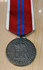 The Queen's 1953 Coronation Medal (Full Size)