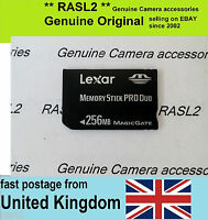 Lexar  Memory Stick PRO DUO 256 MB MagicGate 256MB Memory Card  for SONY