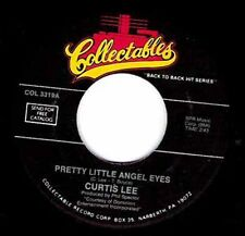 "CURTIS LEE  - Pretty Little Angel Eyes 7"" 45"