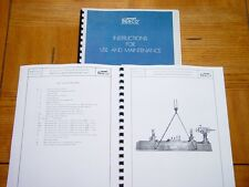 Berco BC4 & BC5 Line Boring Machine Manual