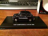 Serie Oro 1/43 Scale Carabinieri 2 Fiat Campagnola A.R.59 1959