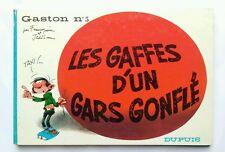 BD - Les gaffes d'un gars gonflé / EO 1967 / FRANQUIN & JIHEDEM / DUPUIS