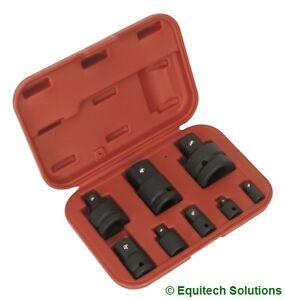 "Sealey  AK5900B Impact Socket Adaptor Converter Set 1/4"" 3/8"" 1/2"" 3/4"" 1"""