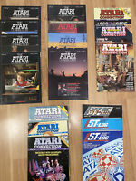 The Atari Connection - 14 Issues - 1981-84 & ST-Log - 3 Issues - 1987
