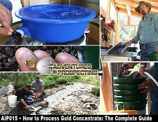 How to Process Gold Concentrate DVD instructional blue bowl falcon md20 + more