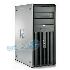 PC COMPUTER HP COMPAQ DC 7800 QUAD CORE, WIN.10, RAM 4GB, HD 250GB