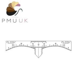 FLEEK Microblading PRO Mapping Stickers - Sticky Rulers Eyebrow SPMU Marking