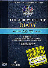 Ryder Cup 2010 - Diary And Official Film (Blu-ray and DVD Combo, 2010, 2-Disc Set, Box Set)
