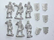 CASTING ROOM MINIATURES 28MM CHINESE ARMOURED INFANTRY. BROWN 318