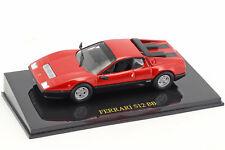 Ferrari 512 BB rot mit Vitrine 1:43 Altaya