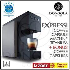 TITANIUM 2016 ALDI Expressi Pod Capsule Coffee Machine System Bonus Taster Pack