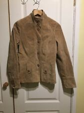 NEW LOOK REAL SUEDE LEATHER JACKET SIZE 8