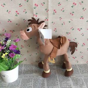 Disney Store Toy Story Woody Horse Bullseye Plush Toy Doll