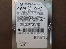 Hitachi HTS545025B9SA02 PN:0A78252 MLC:DA3350 Apple#655-1538D 250gb  Sata HDD