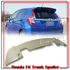 Painted Honda Fit 3rd Jazz Hatchback RS Type Trunk Spoiler LX EX 2016