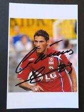 Football Jérémy CLEMENT autographe original hand signed olympique Lyonnais Lyon