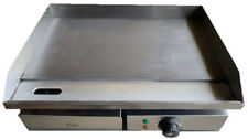 Commercial Steel Griddle Electric Flat Hotplate Burger Grill Fryer 550mm Wide