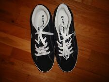 Airwalk The One Men's Skate Athletic Lace Up Shoes Sneakers Black Suede Sz 7