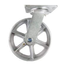 """10"""" x 3"""" Steel Wheel Caster - Swivel"""