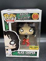 Funko Pop! Rocks Alice Cooper Hot Topic Exclusive #69 Pop Vinyl Figure