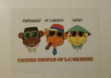 carte postale publicitaire LC WAIKIKI