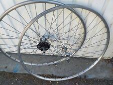 roues vélo course 700 rigida pour peugeot race old Bike wheel set bici vintage
