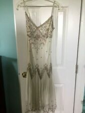 Adrianna Papell Boutique Women's Embellished Short Formal, Size 8 $50