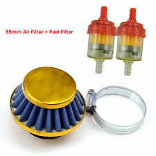35mm Air Filter Fuel 70 90 110 125 cc ATV Dirtbike Honda XR 50 CRF Taotao Roketa