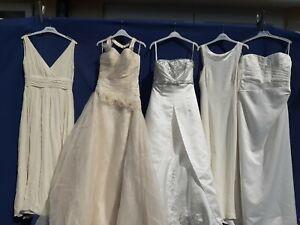 JOBLOT 5 X BRIDES WEDDING FULL LENGTH DRESSES .PARTY PROM FANCY DRESS #11