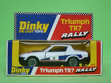 DINKY TOYS   207    TRIUMPH TR7 RALLY    IN EXCELLENT CONDITION