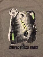 Vintage Rare Nike Airmax 95 T-shirt Size Medium