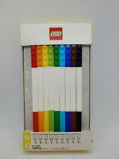 LEGO 9 Count Colored Gel Pens