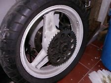 1989 HONDA CBR600F F1 STREET FIGHTER REAR WHEEL AND TYRE CBR 600F