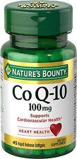 Nature's Bounty CoQ 10, 100mg, 45 Softgels