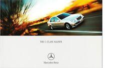 Mercedes C-Class W203 Brochure & Price List 2002 C180 C220 C270 C320 CDI C32 AMG
