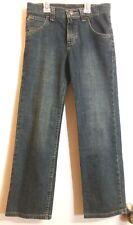 WRANGLERS Youth Boys Denim Blue Jeans Pants Sz 10 Regular 99%Cotton / 1%Spandex