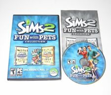 The Sims 2 Fun With Pets Collection PC Game Complete 2010 Mansion & Garden