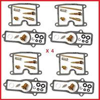 KR Carburetor Carb Rebuild Repair Kit x4 KAWASAKI Z 550 A / C Ltd / D GP 80-82